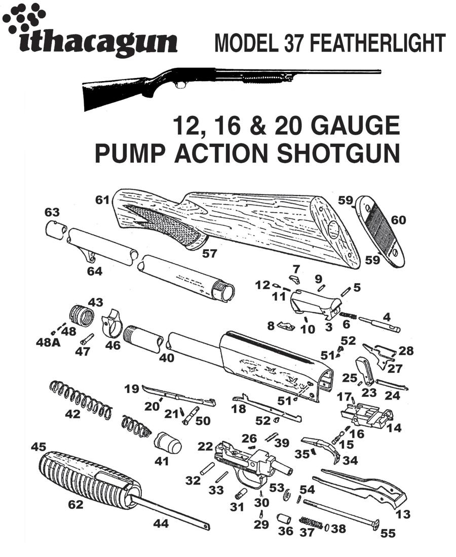 Internal Parts Shop | Buy Ithaca Gun Internal Parts