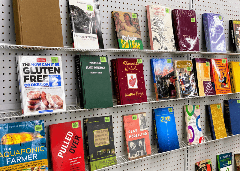 Boutique Books Now at ReUse Community Hardware