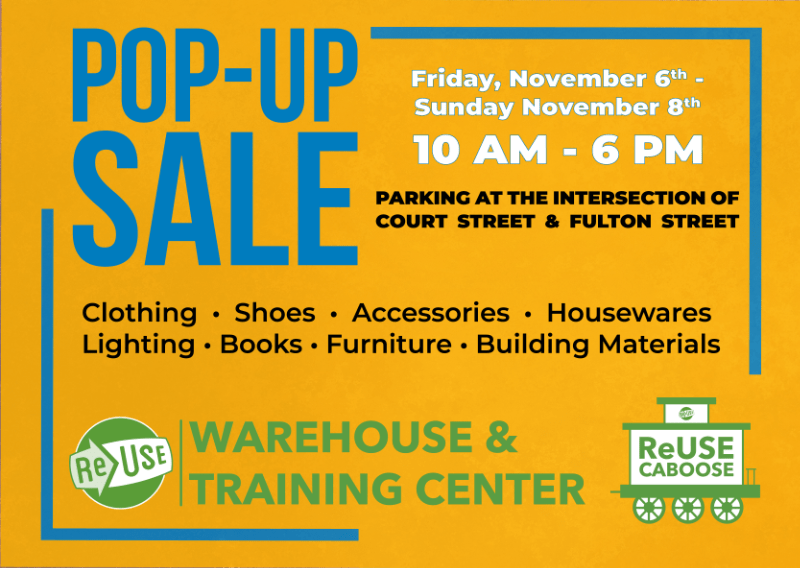 Check Out Our New Pop-Up Sale Starting This Friday!