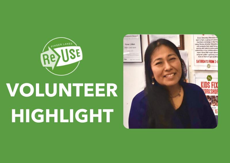 Volunteer Highlight: Erika C.