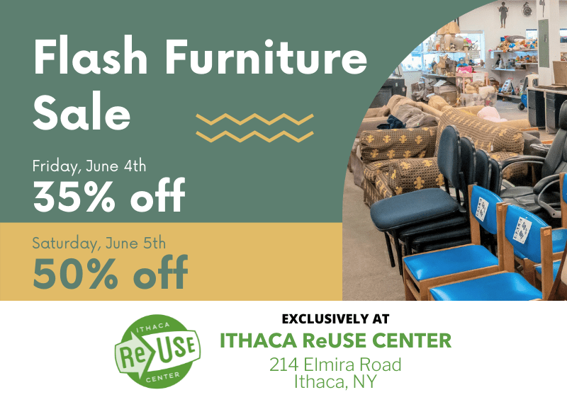 Flash Furniture Sale At Ithaca ReUse Center