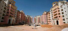 احدى المشاريع المتوقفة بسبب الحصار الاسرائيلي على غزة