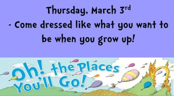 Thursday Dr. Seuss