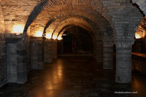 The Crypts of St. Martin in Tournai