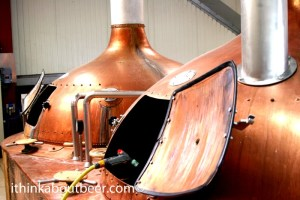Brasserie de Brunehaut's Copper Kettles have been in service since the founding of the brewing in 1890.
