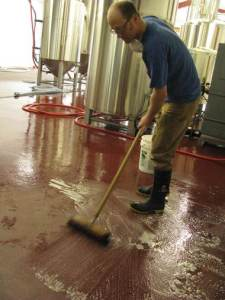 Cleaning Brewer