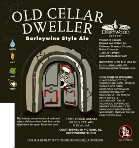 Driftwood Old Cellar Dweller