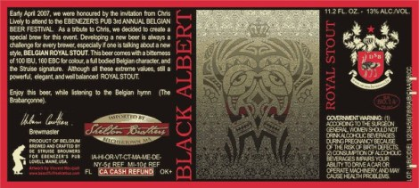 De Struise Black Albert