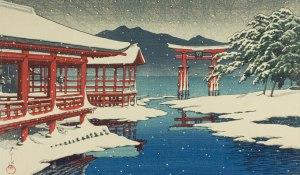 Shrine in Snow