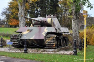 Panther Tank in the Ardennes