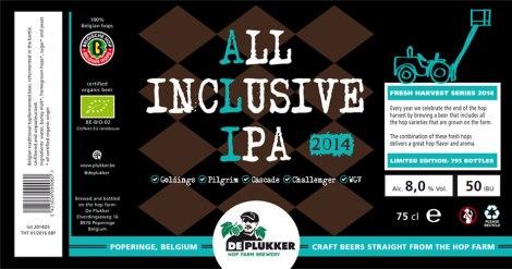 De Plukker All Inclusive IPA