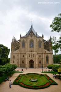 The Church of St Barbara in Kutna Hora
