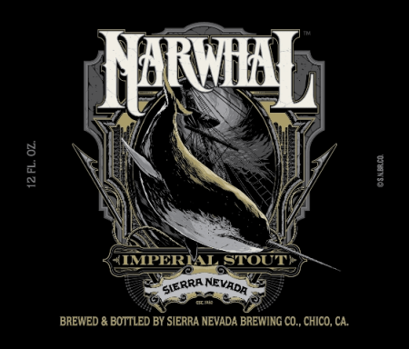 Sierra Nevada Brewing 2012 Narwhal Imperial Stout