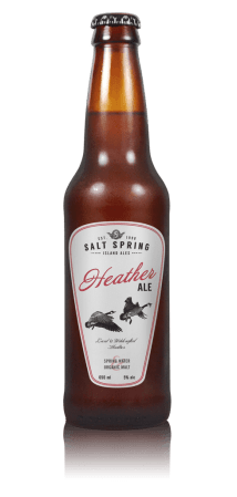 Gulf Island Brewery Salt Spring Island Heather Ale