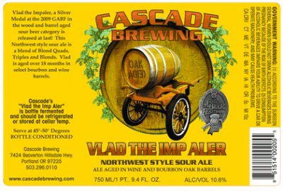 Cascade Brewing Vlad The Imp Aler 2009