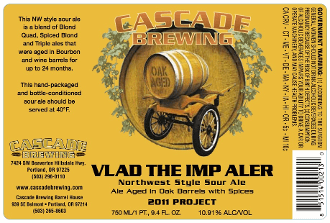 Cascade Brewing Vlad the Imp Aler 2011