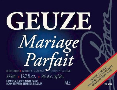 Boon Geuze Mariage Parfait 2008