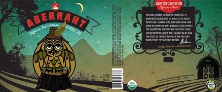 Logsdon Organic Farmhouse Ales Bergschrund Aberrant