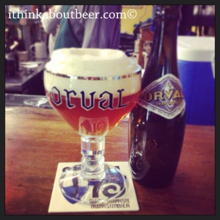 Orval – Bottle no. 1 28/3/2017