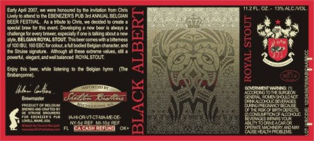 De Struise Brouwers Black Albert