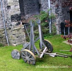 Ye Olde Trebuchet and Ye Olde Plastic Chairs