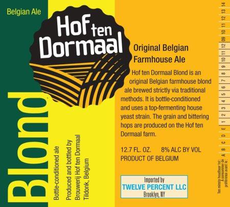 Hof ten Dormaal Blond