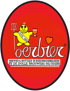 De Dolle Oerbier – June 2014 Bottle no. 1