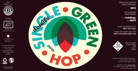 De Plukker Single (Double) Green Hop 2015