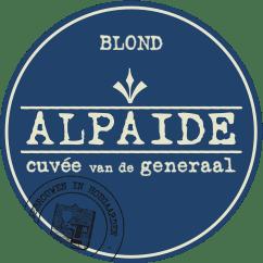 Nieuwhuys Alpaide Blond Cuvee van de Generaal