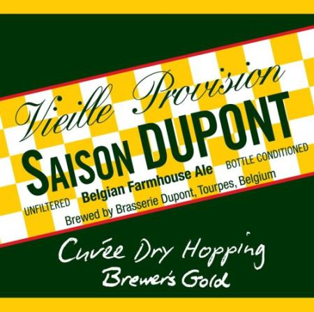 Saison Dupont Dry Hopping 2016 Brewers Gold