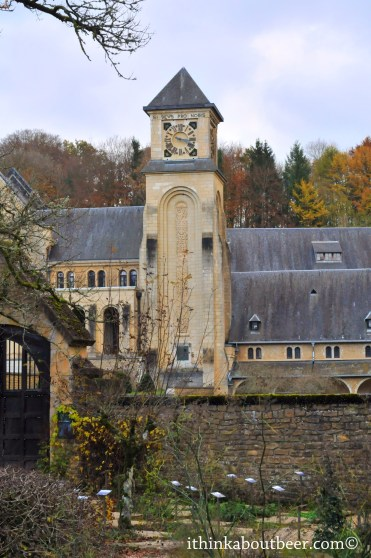 Clock Tower and Ruins - Orval