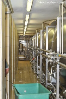 Rows of Horizantal Fermenters - Orval