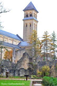 Ruins and Bell Tower - Orval
