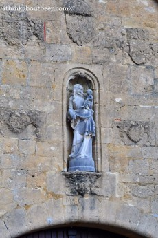 The Welcoming Statue - Orval