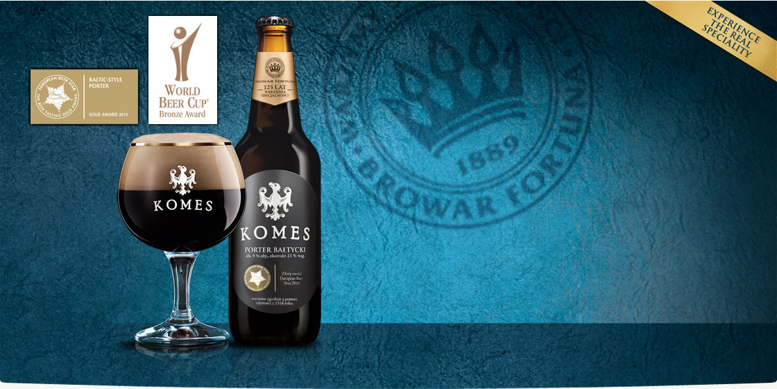 Browar Fortuna Baltic Porter Komes