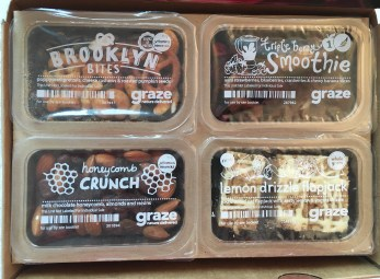 Top layer of the Graze Box