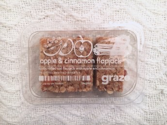 Graze Box Apple & Cinnamon Flapjack | I Think It's Ashley