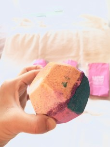 LUSH The Experimenter Bath Bomb | I Think It's Ashley