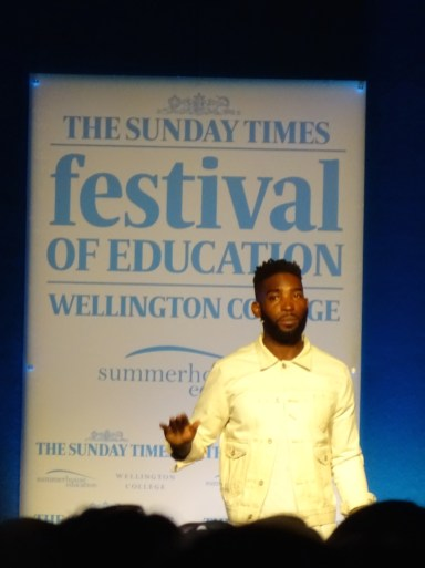 """""""It's always better to try, even if you fail and fall. The good people around you will pick you up."""" Tinie Tempah"""