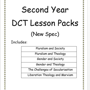 Second Year DCT Lesson Packs