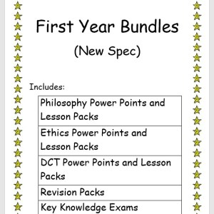 First Year Bundles