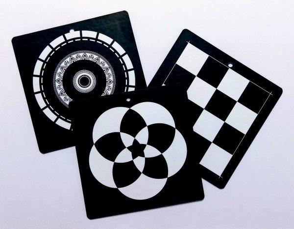 Ασπρόμαυρες κάρτες παρατήρησης, ithmoskids.com
