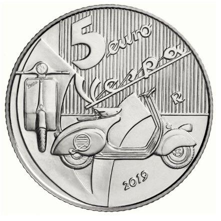 快看!意政府发行了一套5欧元硬币!