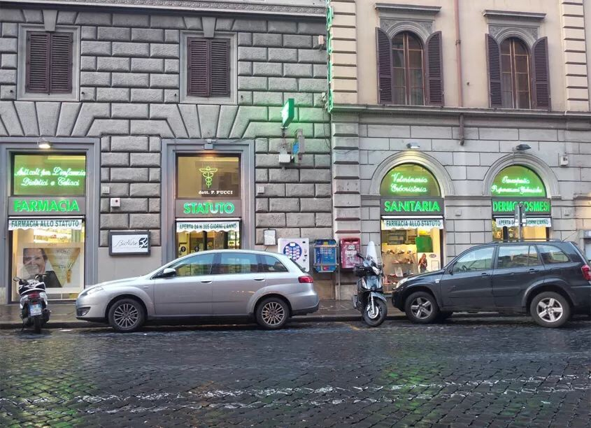 深夜生病怎么办?米兰,罗马,佛罗伦萨24小时药店全图鉴