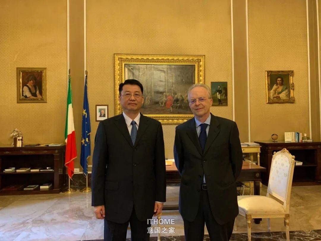 刘侃总领事拜会米兰省督 使馆通知 第1张