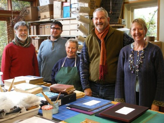 Our Thanks to the Team at The Presteigne Bindery for their pristine work!