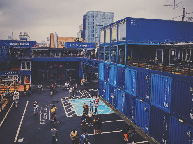 Common Grounds - a hip container park