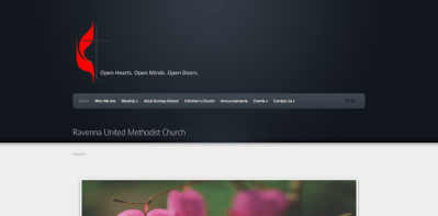 Ravenna United Methodist Church Website