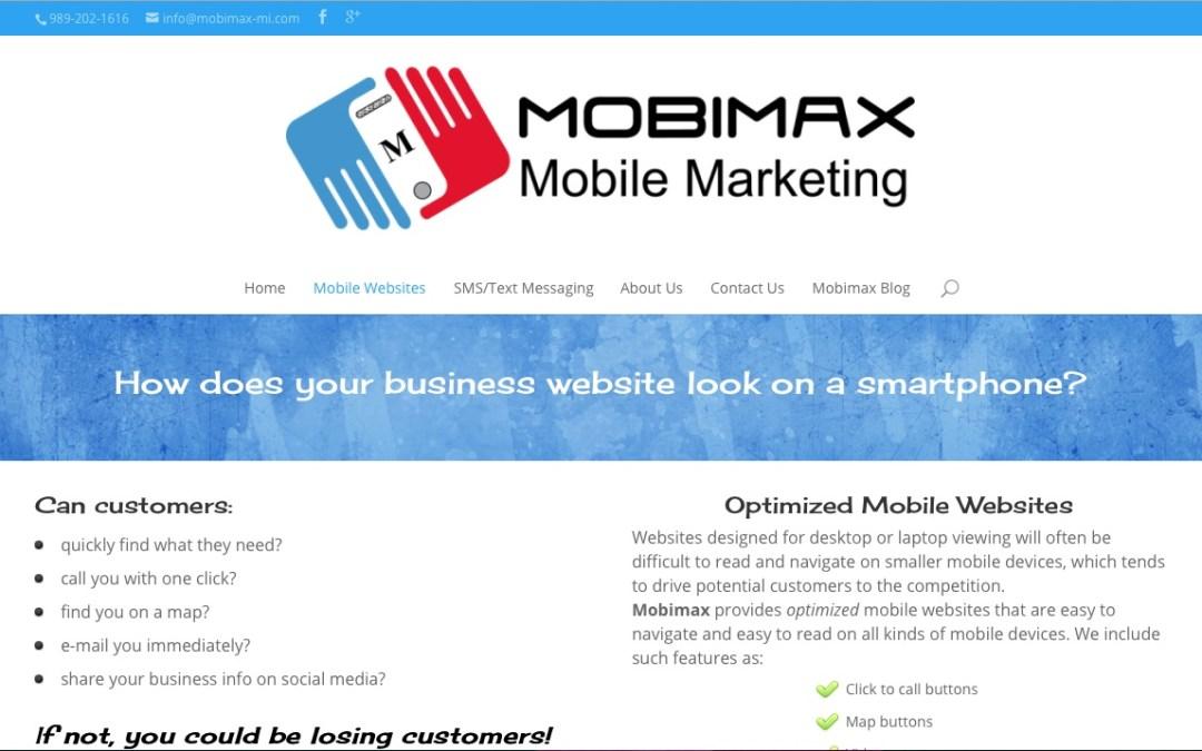 Mobimax WordPress Website