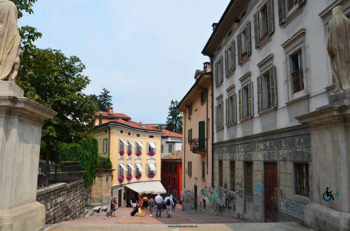 rue de Lugano qui mène à l'église